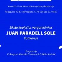 JUAN PARADELL SOLE