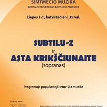 Simtmecio muzikaSUBTILU_2018-01